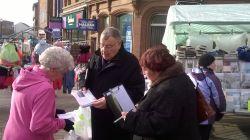 town centre leaflets