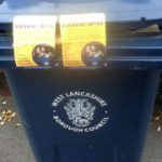 stickers on bins